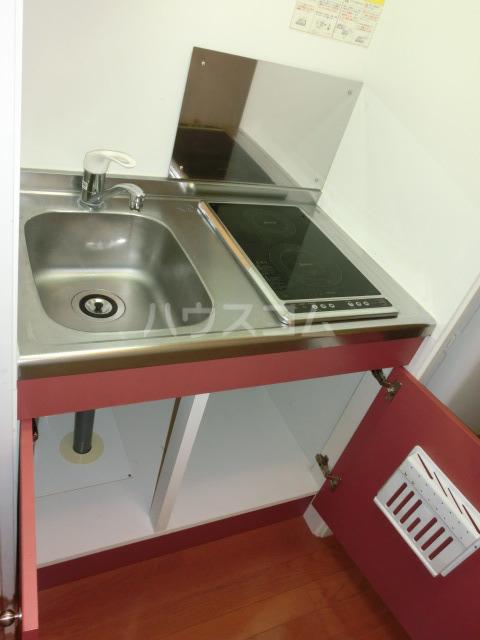 レオパレスしんでん 204号室のキッチン