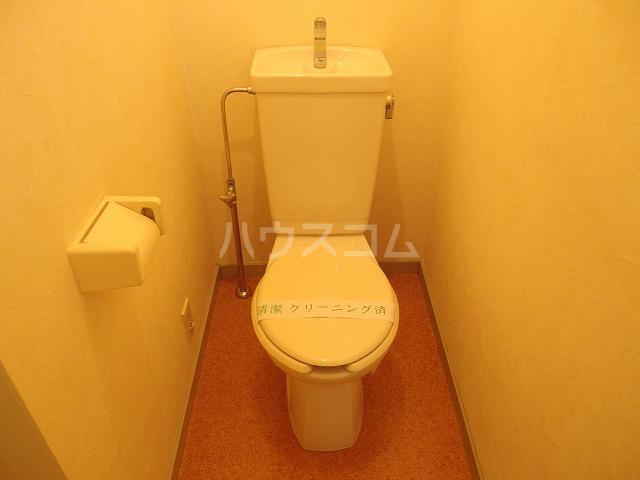 フロムココⅡ 106号室のトイレ