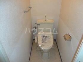シーアイハイツ町田Ⅰ棟 206号室のトイレ