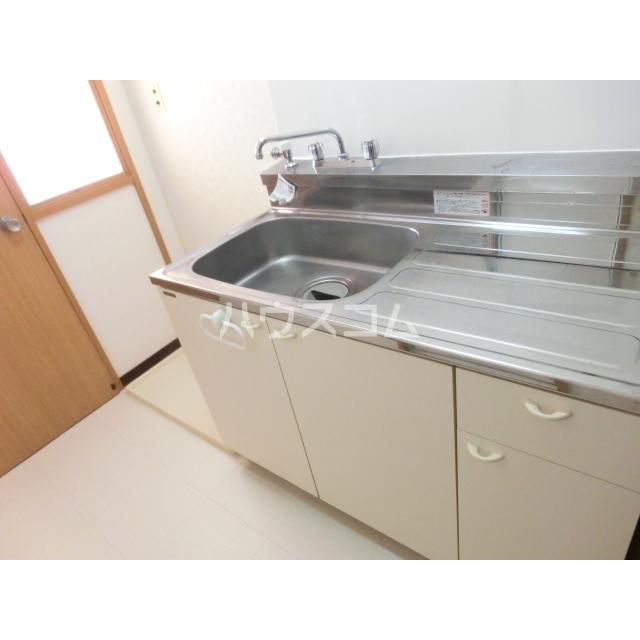 ハイツ土方A 201号室のキッチン