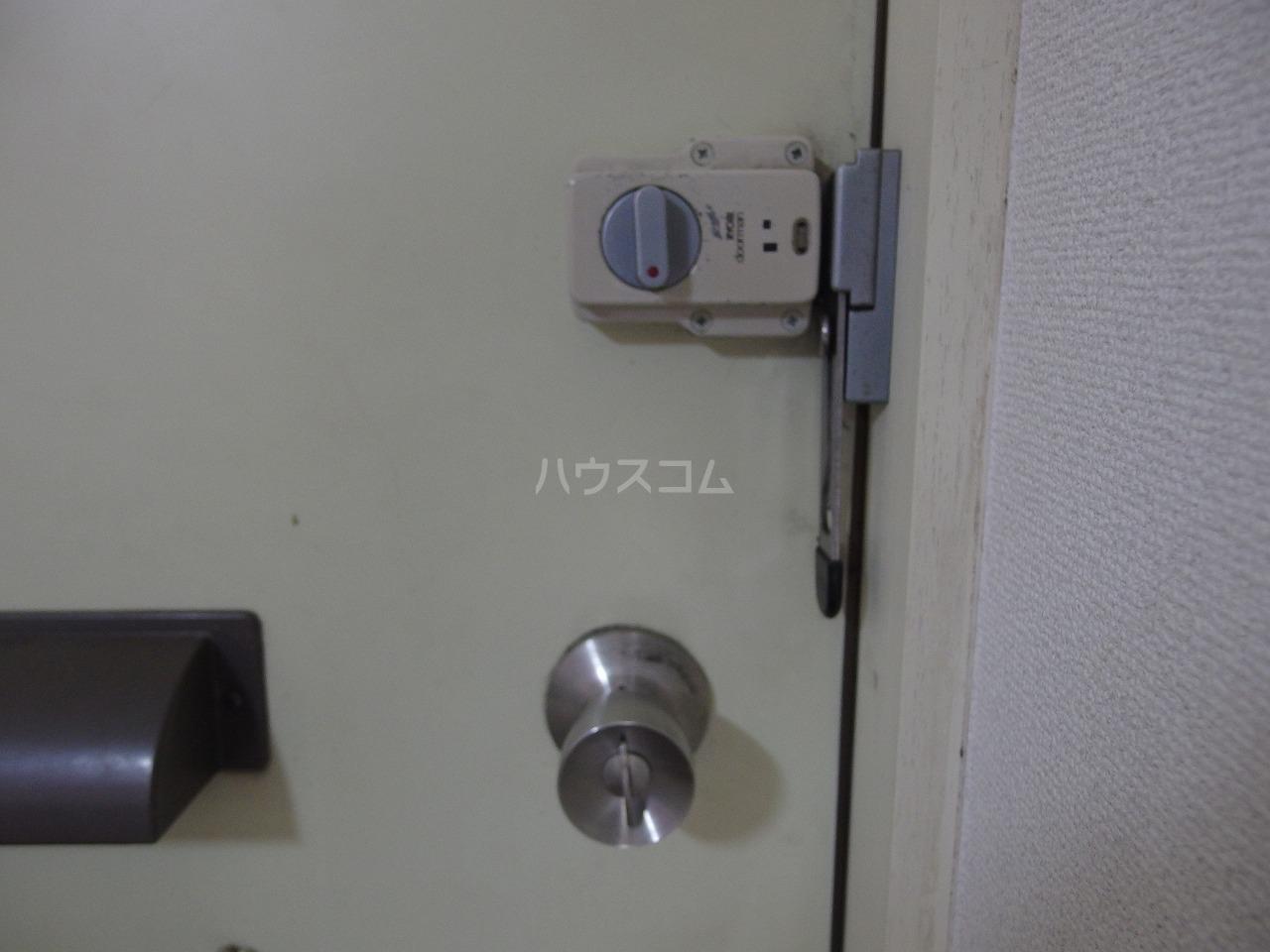 フラット程久保 203号室のセキュリティ