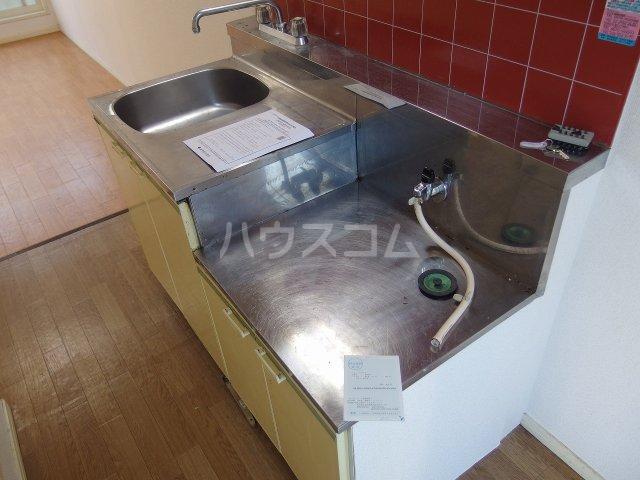 フラット程久保 203号室のキッチン