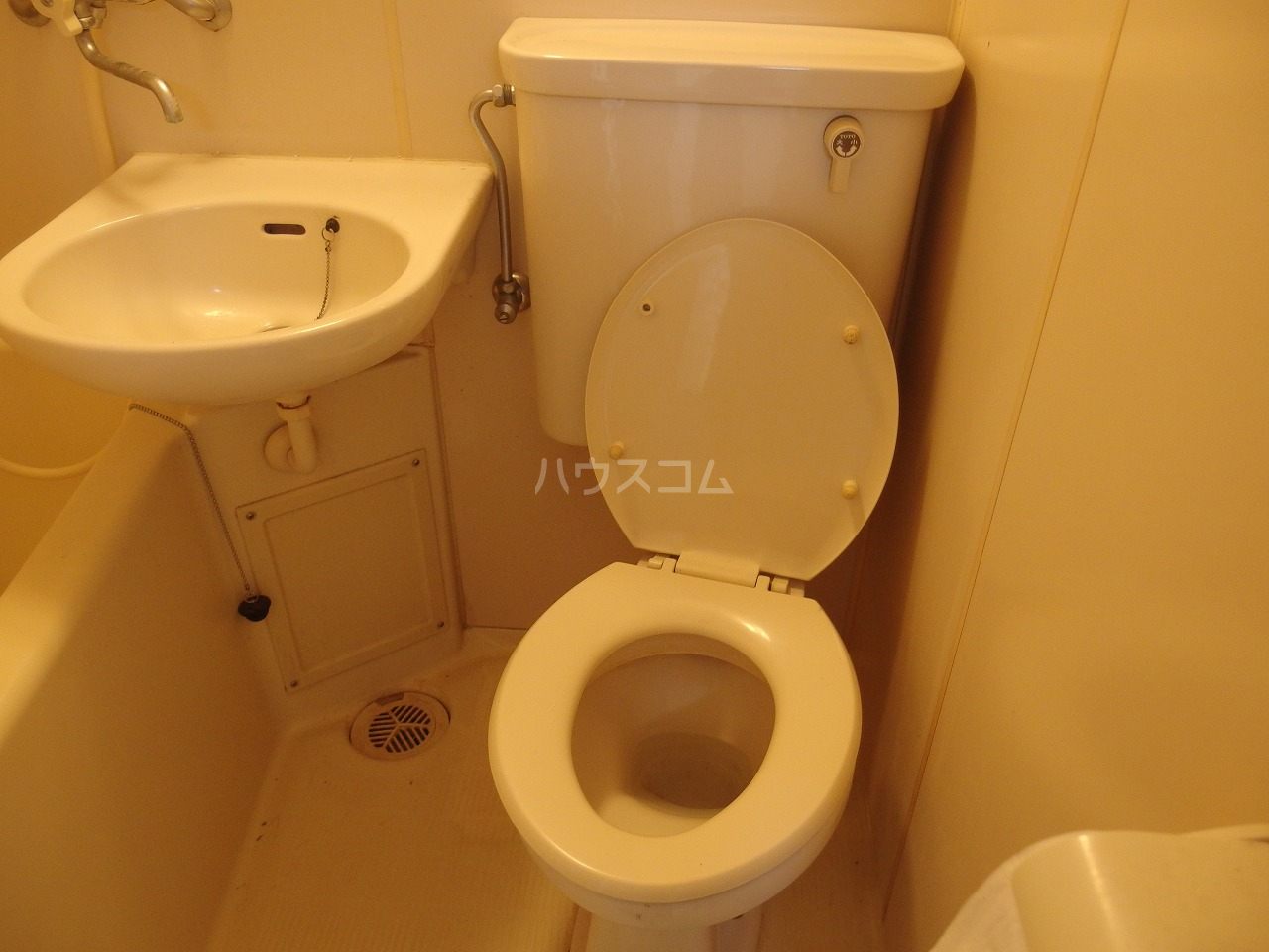 フラット程久保 203号室のトイレ