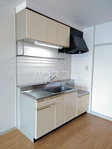 コーポ大門 202号室のキッチン