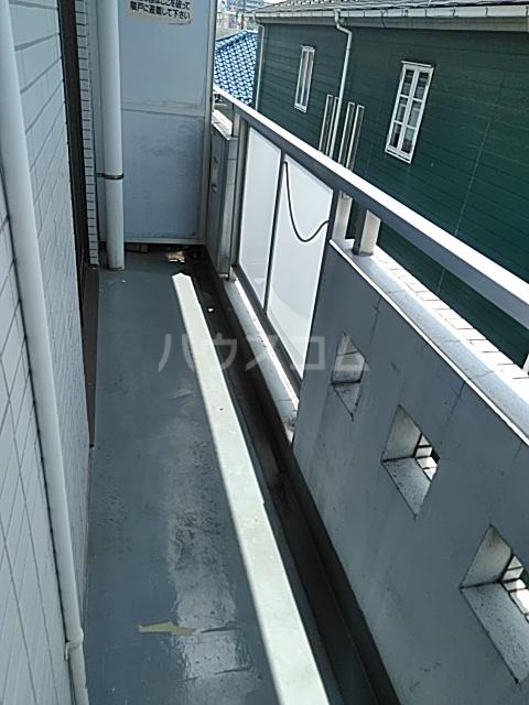 ハイメゾン橋本六 303号室のバルコニー