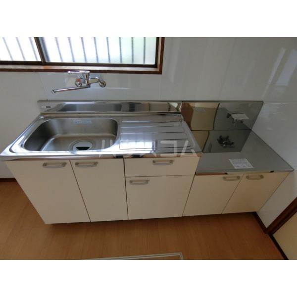 阿部アパート 101号室のキッチン