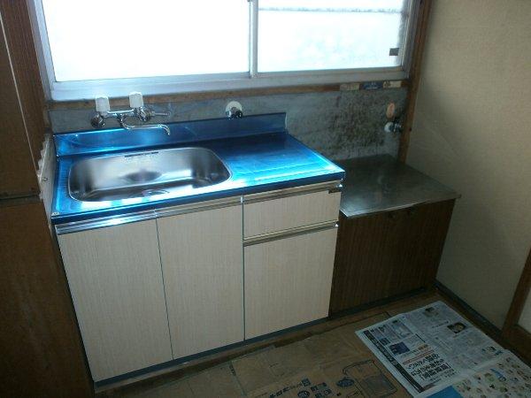 八幡荘 00003号室のキッチン