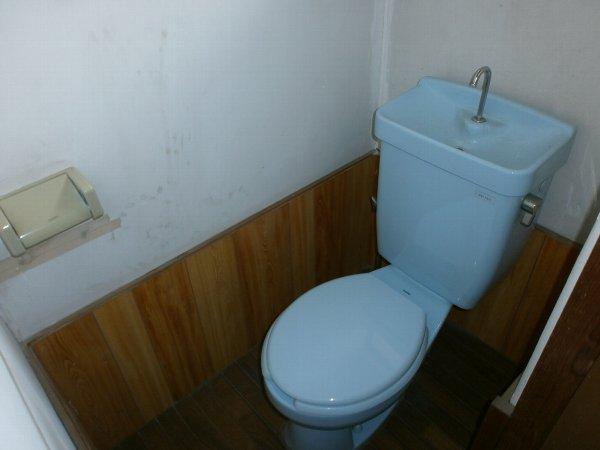 八幡荘 00003号室のトイレ