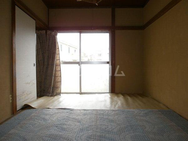 八幡荘 00003号室のバルコニー