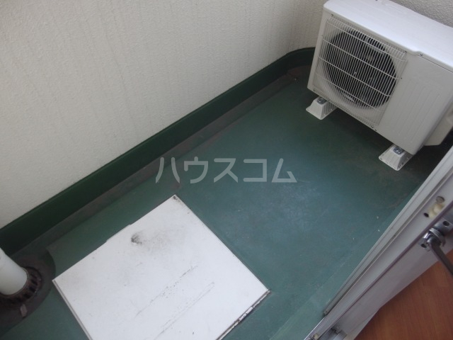 タナホーム山王下 301号室のバルコニー