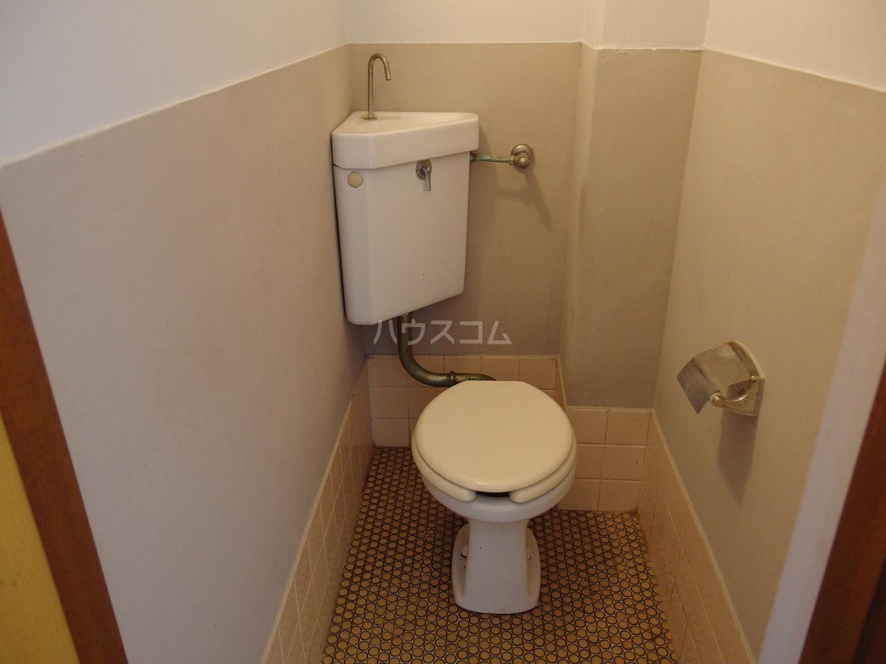英進ハイツ 106号室のトイレ