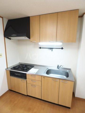広瀬ビル 502号室のキッチン