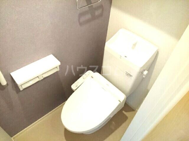 アンクリッシュⅡ 01020号室のトイレ
