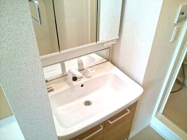 アンクリッシュⅡ 01020号室の洗面所