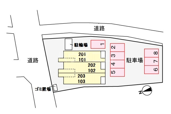 アンクリッシュⅡ 01030号室の設備