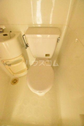 エクセレントハイム 204号室のトイレ