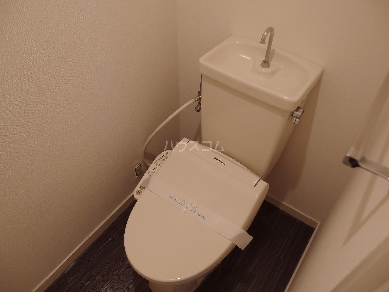 スターライトヴィラ2 202号室のトイレ