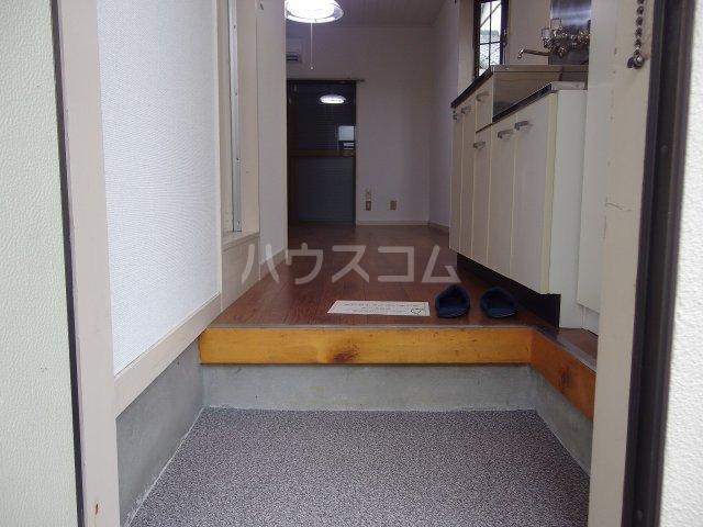 クロノス日野南 105号室の玄関
