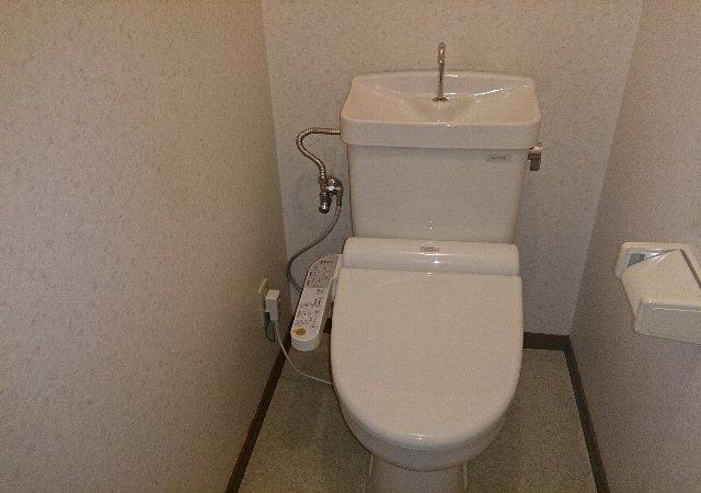 ルベルアジュ 203号室のトイレ