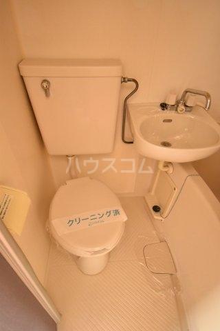 グランモア若葉 101号室のトイレ