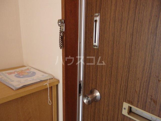 若菜荘 102号室のセキュリティ