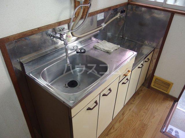 若菜荘 102号室の洗面所