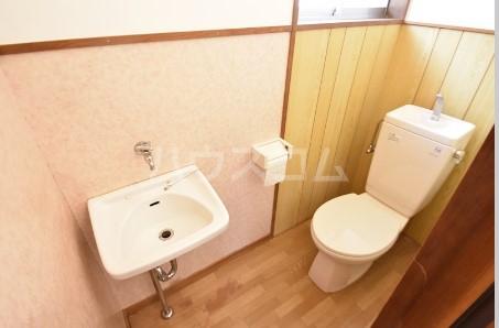 森屋邸貸家のトイレ