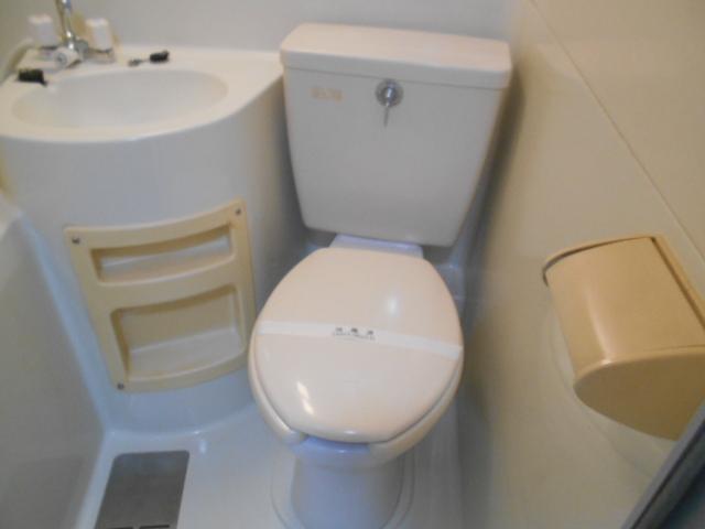 コーポ竹之内A 101号室のトイレ