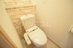 アイリス江南のトイレ