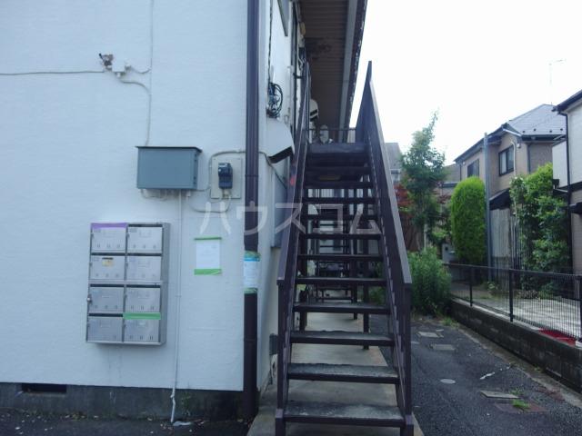コーポ吉田 101号室のエントランス
