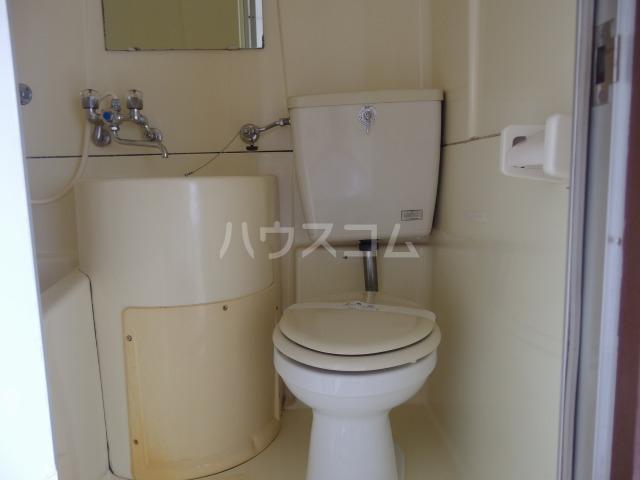 コーポ吉田 101号室のトイレ