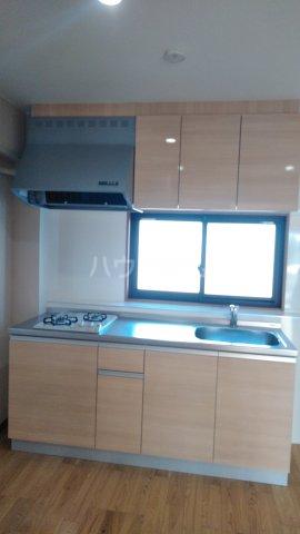 三和マンション 3B号室のキッチン