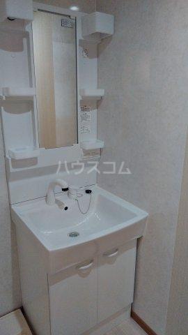 三和マンション 3B号室の洗面所