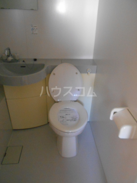 高蔵寺ビル 301号室のトイレ