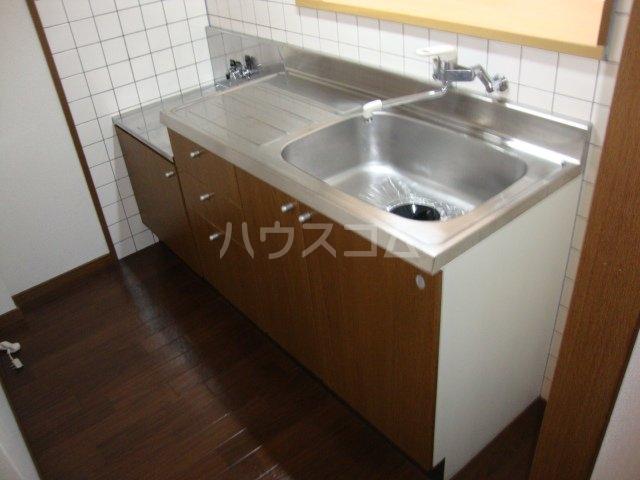 ルミナス押沢台 203号室のキッチン