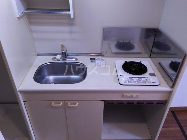 パリーマンションⅡ 203号室のキッチン