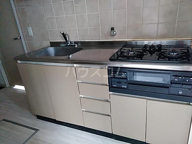 カステルセゾン 205号室のキッチン
