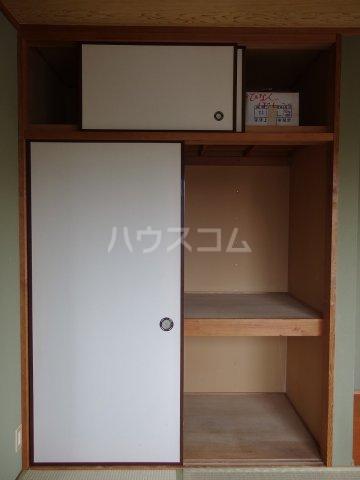 コーポ阿部 205号室の収納