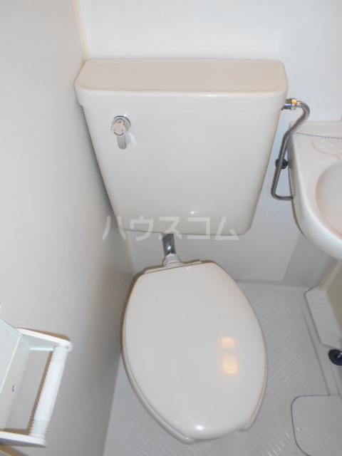 エルドラド 414号室のトイレ