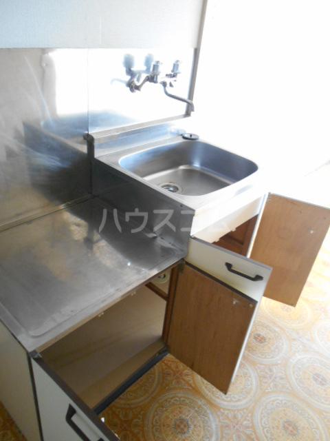 エルドラド 414号室のキッチン