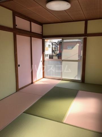 小川ハイツ 201号室のリビング