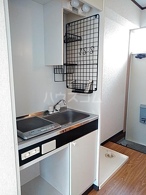 ファーストシティ橋本 205号室のキッチン