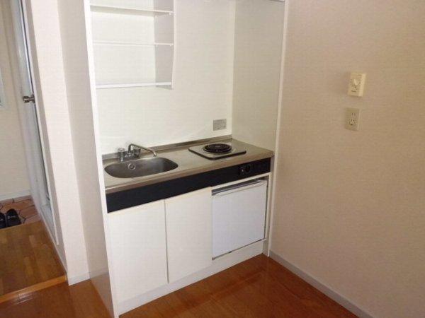 サマックス ブラウン 202号室のキッチン