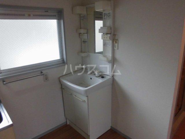 サンステアイナガキ 201号室の洗面所