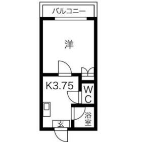 プレアール江南・2-0122号室の間取り