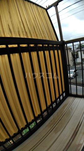 サウスハイム入曽 00201号室のバルコニー