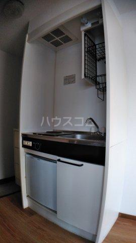 サウスハイム入曽 00201号室のキッチン