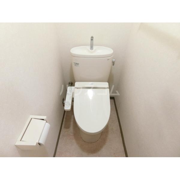 聖蹟桜ヶ丘ガーデンホーム 203号室のトイレ
