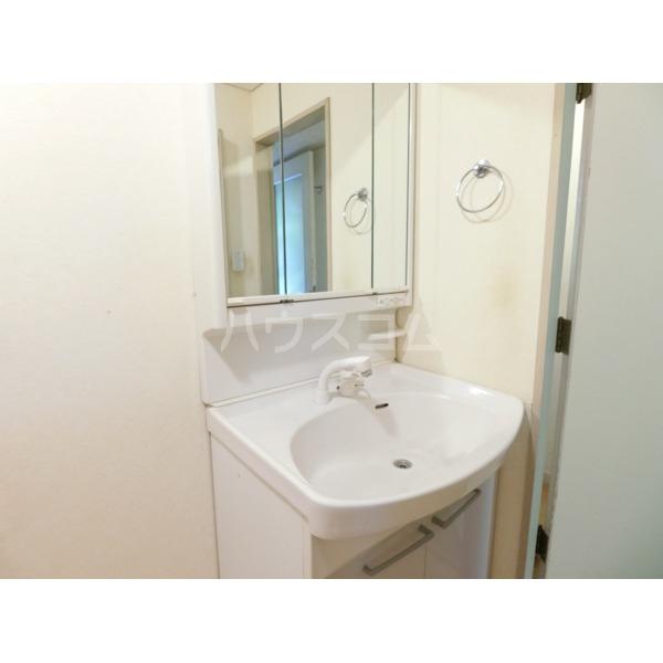 聖蹟桜ヶ丘ガーデンホーム 203号室の洗面所