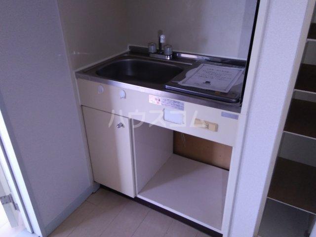 レオパレス東枇杷島 201号室のキッチン